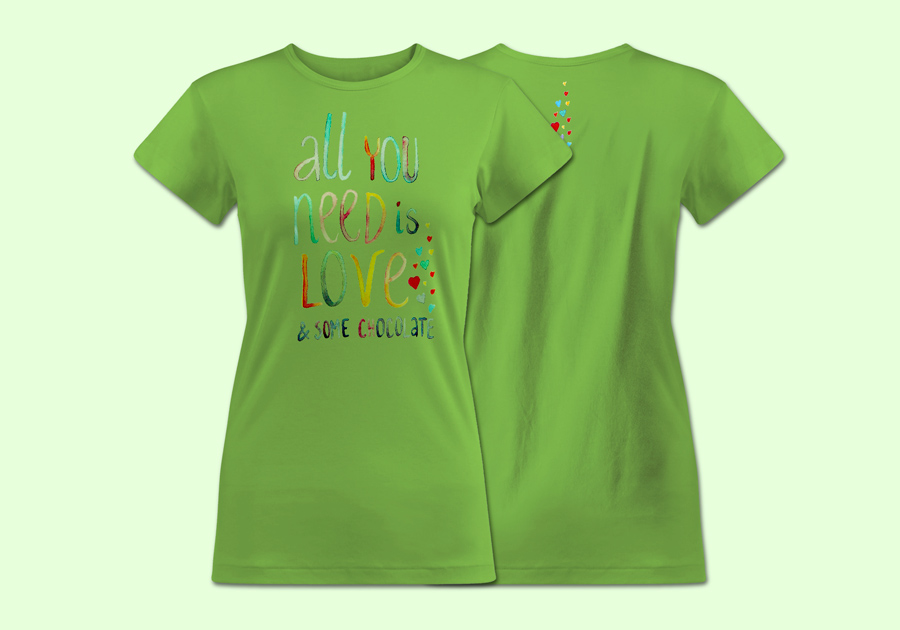 Classic_T-shirt_women_Lime