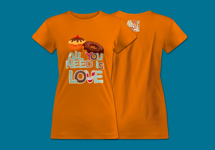 Classic_T-shirt_women_Orange