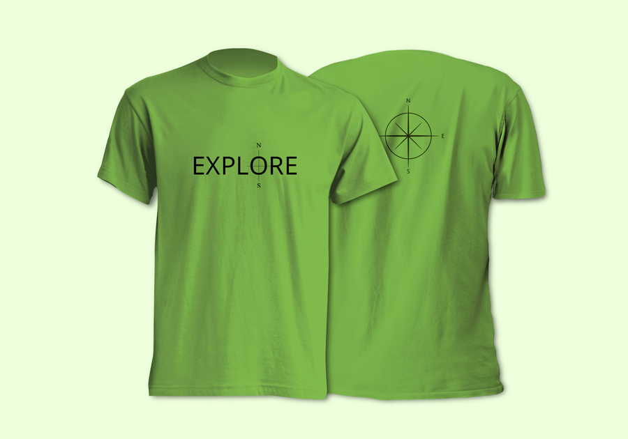 T-shirt_men_Lime