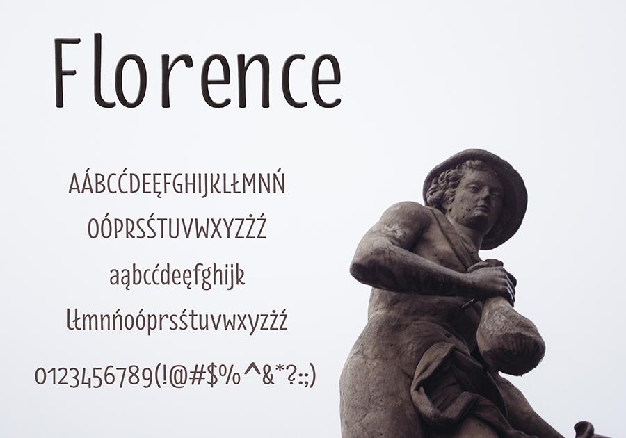 Font Florence-Regular