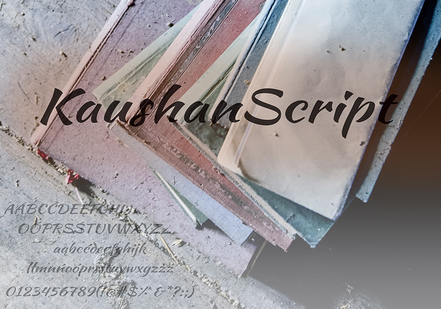 Darmowa czcionka Script