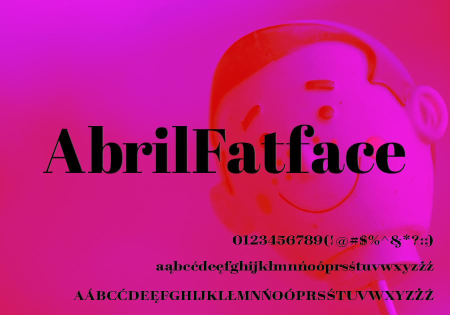 AbrilFatface-Regular