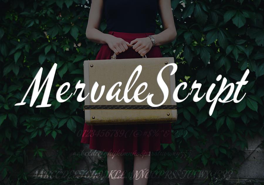 Mervale Script.