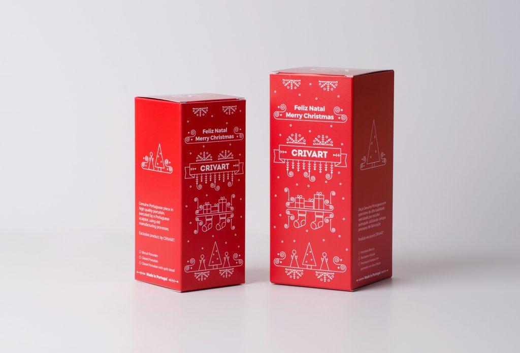 pudełko produktowe w wersji świątecznej