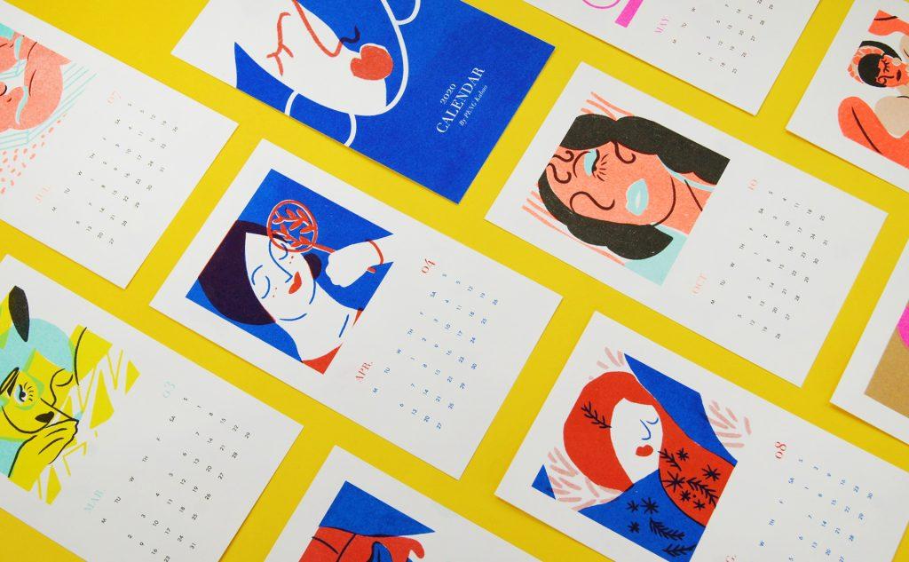 kalendarze projekty