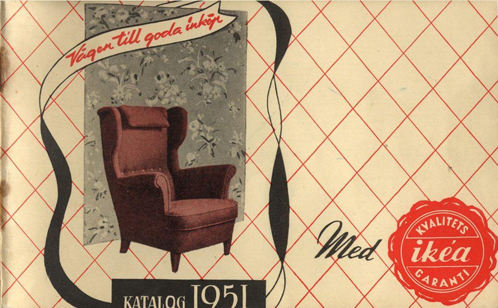 Katalog reklamowy IKEA 1951