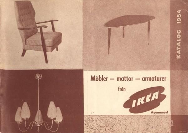 Okładka katalogu IKEA 1954