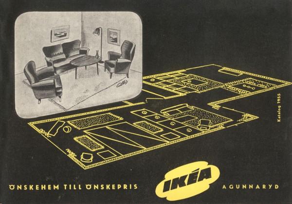 Katalog reklamowy IKEA 1955