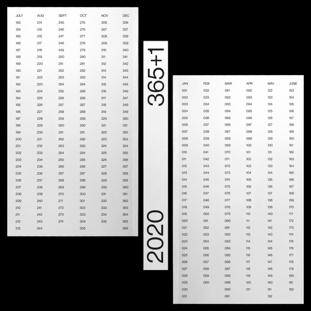 kalendarz 365+1