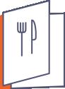 menu składane