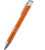 długopis metalowy z chromowanymi elementami