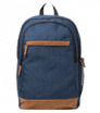 """plecak uniwersalny 15"""" granatowo - brązowy"""