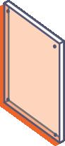 płyty plexi bezbarwne bez zadruku z frezowaniem i otworami
