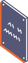 Szyldy metalowe wycinane laserowo