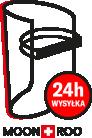 Przyłbica ochronna MOONROO COVER premium Black&White