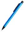 długopis metalowy z czarnym klipsem