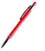 długopis metalowy ze srebrnymi zdobieniami