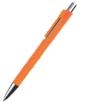 długopis plastikowy z klipsem z jednego elementu