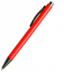 długopis plastikowy z szarymi elementami
