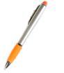 długopis z podświetlanym logo i touch pen