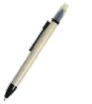 długopis eco friendly z zakreślaczem