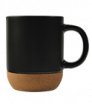 kubek ceramiczny z korkową podstawką 350 ml