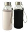 butelka szklana w pokrowcu z neoprenu 300 ml